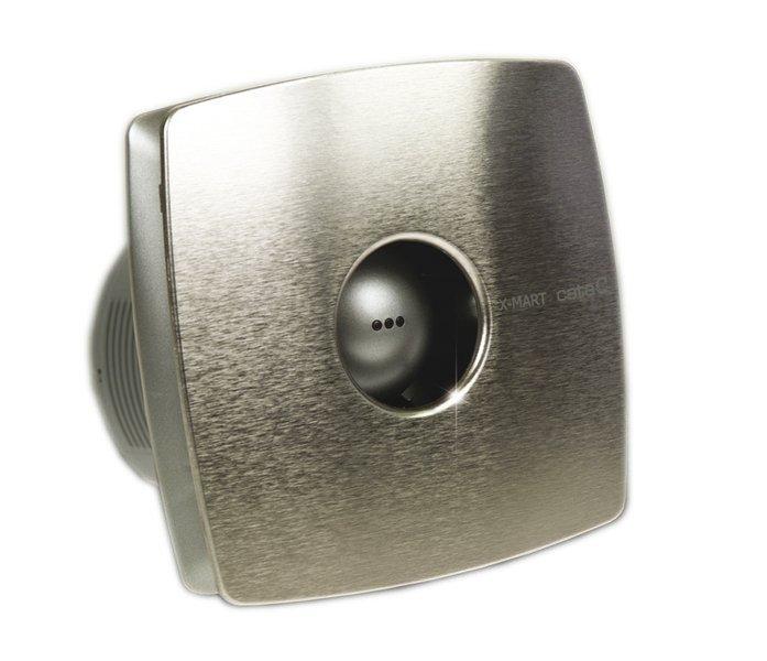 Sapho X-MART VENTILÁTOR 12 koupelnový ventilátor axiální, 20W, potrubí 120mm, nerez 01050000